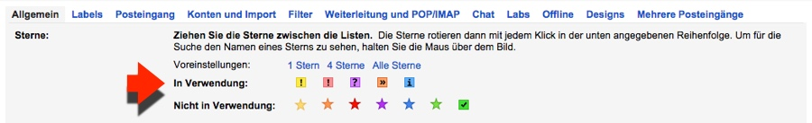 Gmail - 02 - Sterne