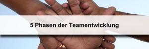Teamentwicklung nach Tuckman