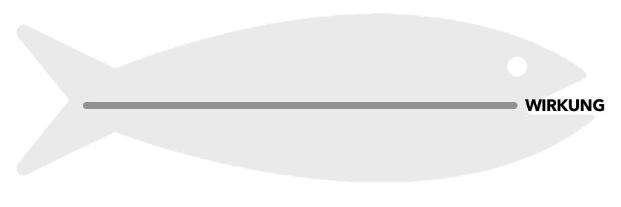Ishikawa Diagramm (Fischgräte) - Hauptgräte