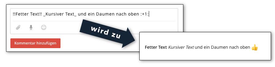 Todoist - Text formatieren und Emojis nutzen