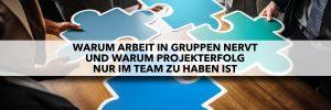 Gruppen vs Teams - Warum Projekterfolg nur im Team zu haben ist