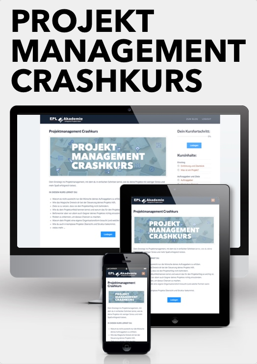 Projektmanagement Crashkurs